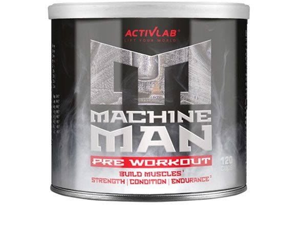 Machine Man Pre Workout 120caps