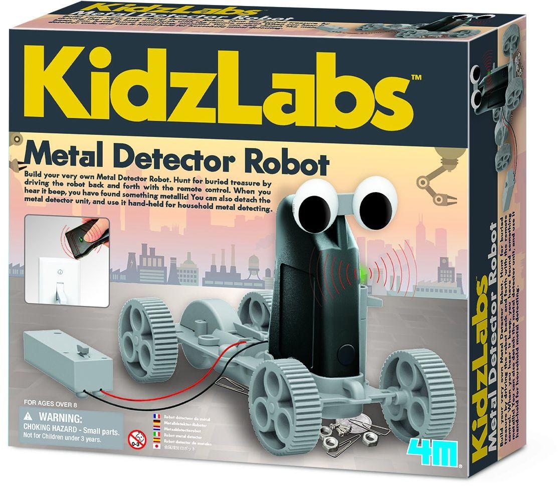 Metalowy detektor robot do samodzielnego montażu