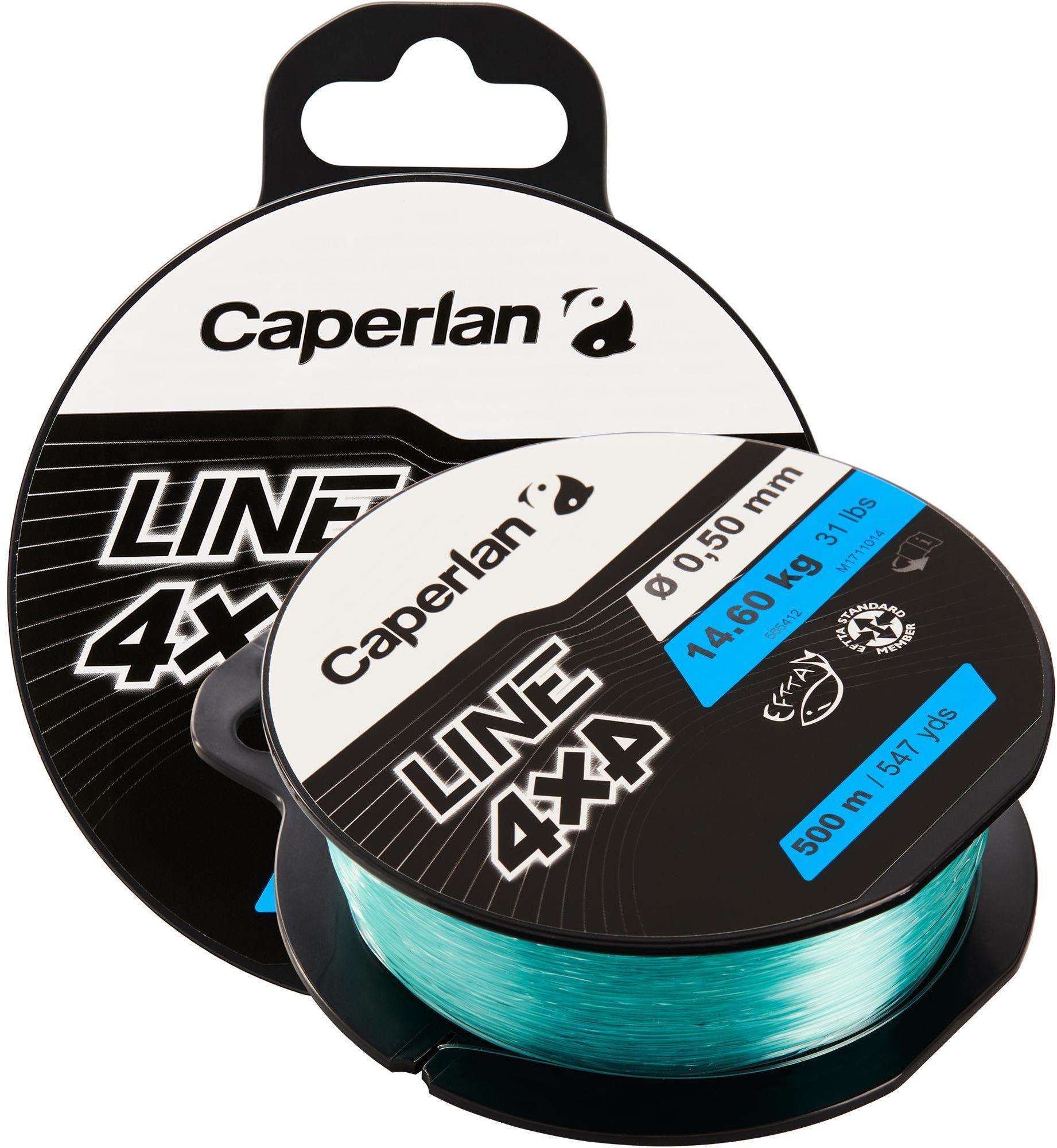 Żyłka wędkarska Caperlan 4X4 500 m