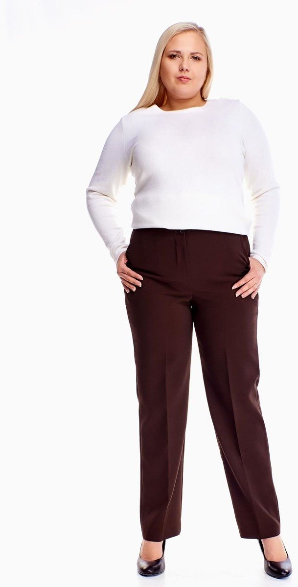 Spodnie FSD319 CZEKOLADOWY
