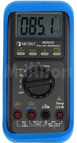 Multimetr cyfrowy METREL LCD 3,75 cyfry (4000), podświetlany