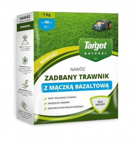 Nawóz do trawnika  z mączką bazaltową  1 kg target