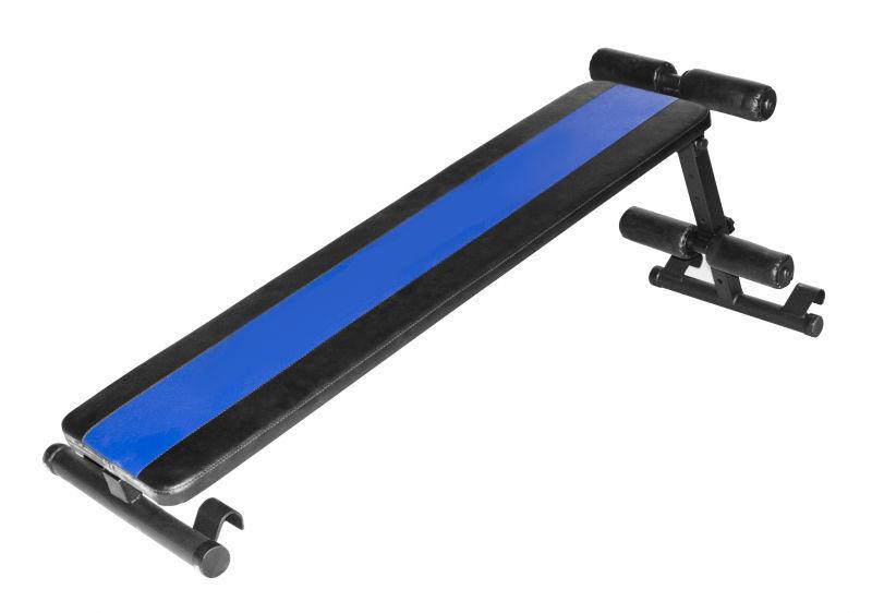 MAŁPISZON Ławka treningowa ukośna Kraft niebieska