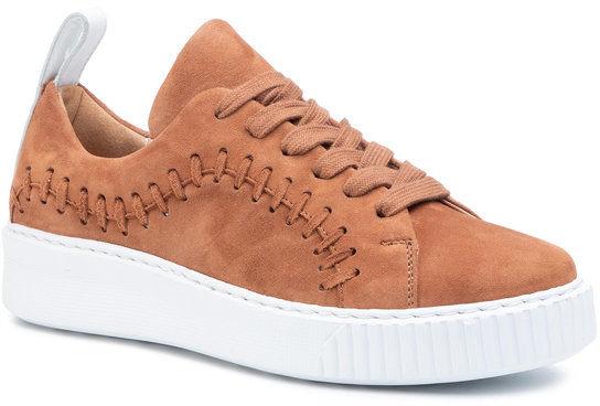 Gino Rossi Sneakersy Kin DPK099-883-0760-2500-0 Brązowy