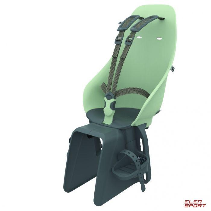 Fotelik rowerowy tylny na bagażnik Urban Iki Green/black