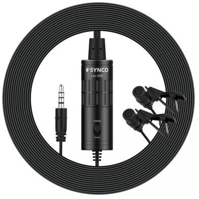 Synco S6D - mikrofon krawatowy podwójny
