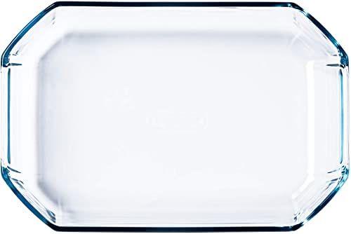 Dajar naczynie do pieczenia Inspiration 27 x 18 cm 2,1 l Pyrex, szkło, przezroczyste, 27 x 18 x 6,5 cm