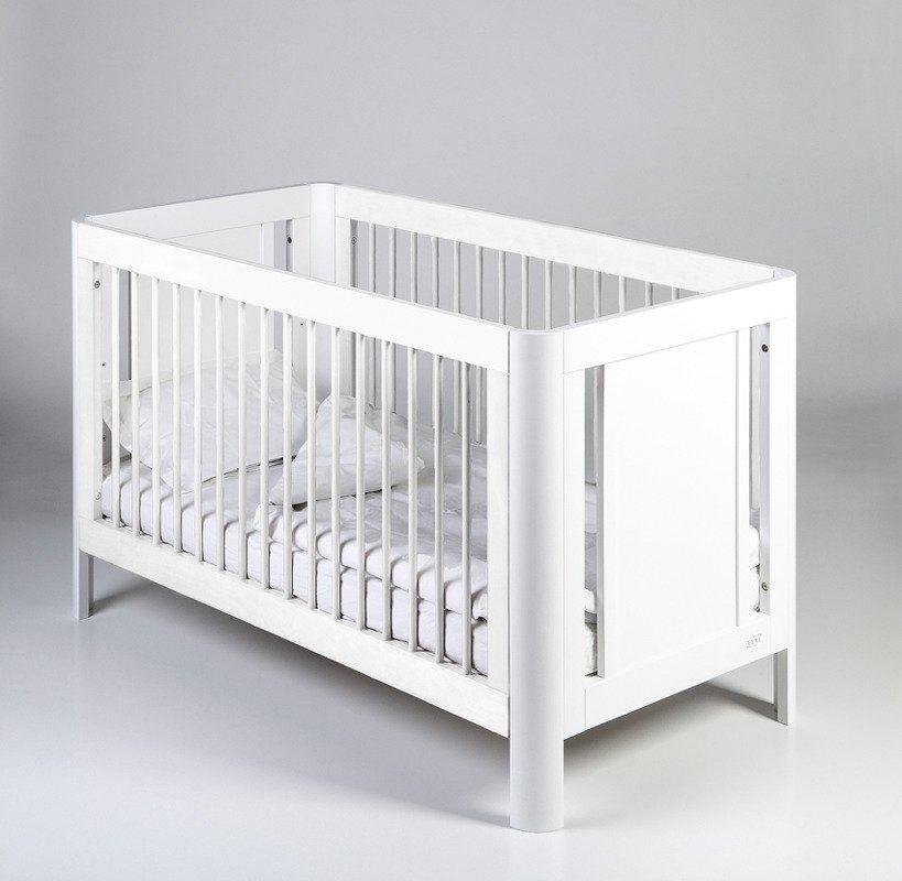 Łóżeczko dziecięce z funkcją tapczanika sun 140x70 troll nursery (k. biały)