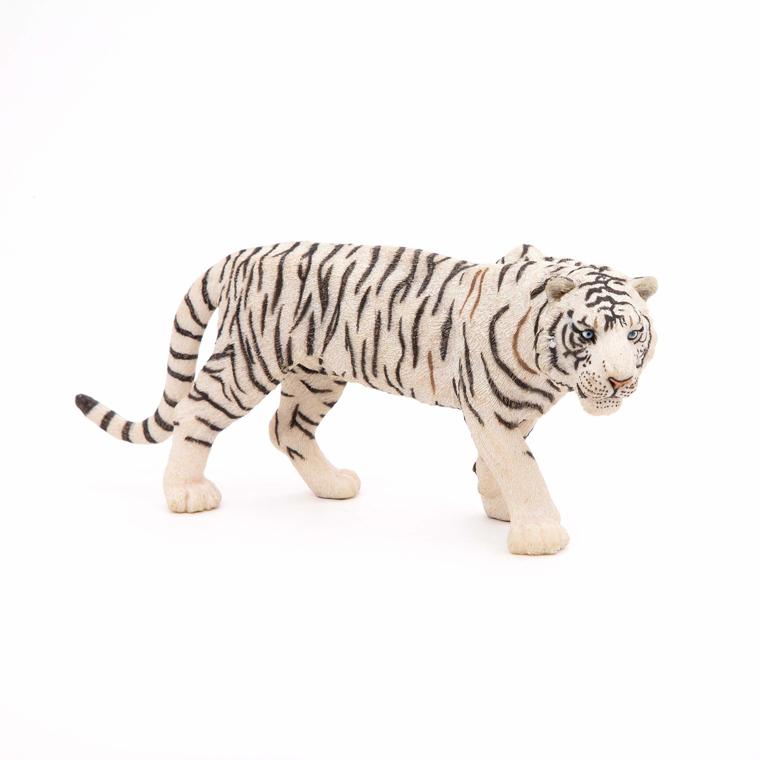 """Papo 50045 figurka """"tygrys"""", biała"""