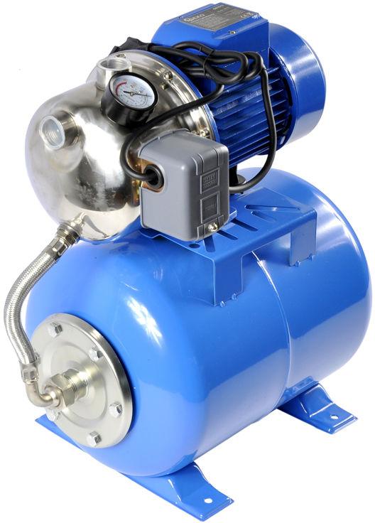 Zestaw hydroforowy pompa wody hydrofor 1100W 24l