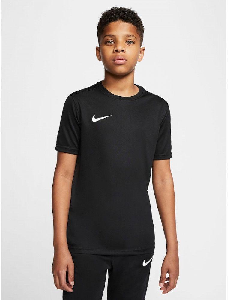 Koszulka Dziecięca Nike Park VII Junior T-shirt Oddychający Czarny