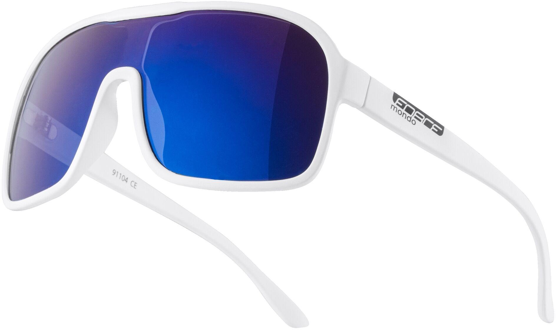 FORCE Okulary przeciwsłoneczne MONDO biały mat, 91104,8592627156823