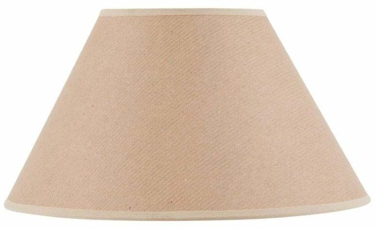 Klosz lampy w kształcie wiktoriańskim, papier siarczanowy, Ø 35 x 15 x 21