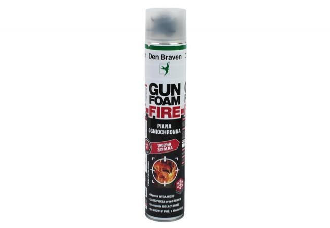Piana GUNFOAM FIRE DBS-9802-NBS 750 pistoletowa niepalna ognioodporna