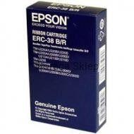 Taśma barwiąca EPSON ERC-38BR czarno-czerwona