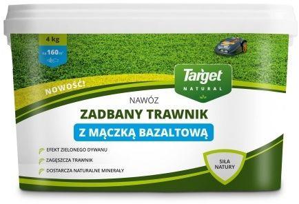 Nawóz do trawnika  z mączką bazaltową  4 kg target