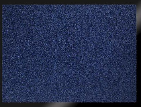 ID Mat te 608005 Mirande wycieraczka włókno nylonowe/guma PCW 80 x 60 cm), niebieska, 60 x 80 cm