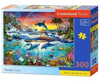 Puzzle Castor 300 - Rajska zatoczka, Paradise Cove