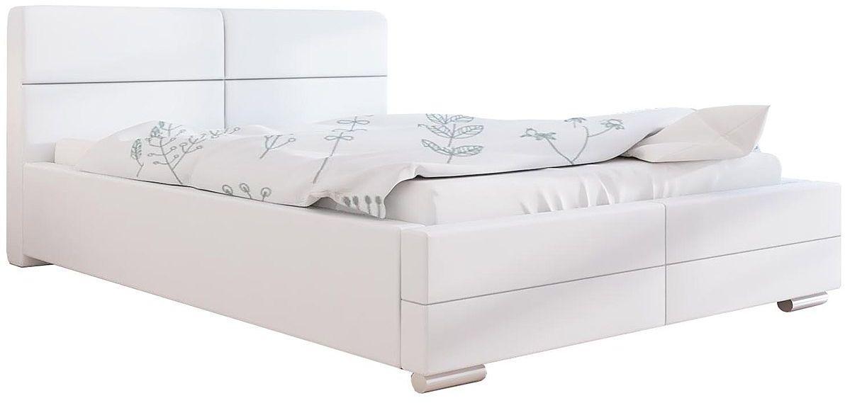 Tapicerowane łóżko z zagłówkiem 180x200 Oliban 2X - 48 kolorów