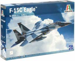 ITALERI 1415S  1:72 F-15C Eagle, modelarstwo, zestaw budowlany, budowa modeli, majsterkowanie, klejenie, zestaw plastikowy, wierne szczegóły