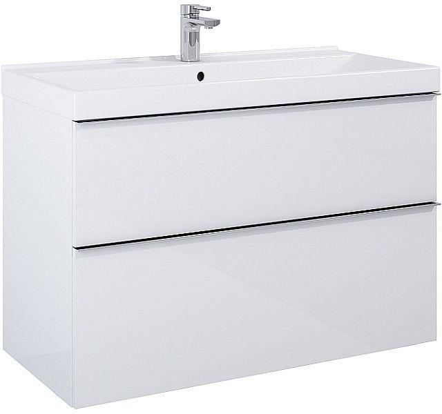 Szafka pod umywalkę 100 Look White Elita (167085)