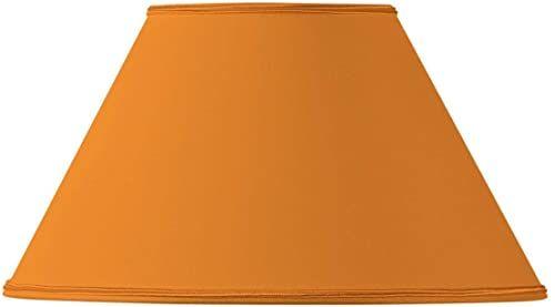 Klosz lampy, kształt wiktoriański, Ø 40 x 17 x 24 cm, pomarańczowy