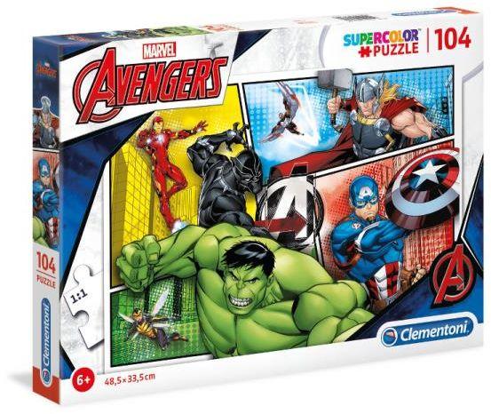 Clementoni puzzle 104el. Avengers (27284 CLEMENTONI)