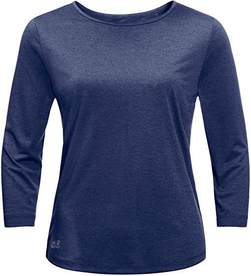 Jack Wolfskin damski T-shirt Jwp Lapiz Blue 1