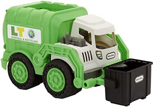Little Tikes Dirt Diggers Śmieciarka - Zabawka Do Użytku w Domu Lub Na Zewnątrz - Łatwa Do Kontrolowania - Zachęca Do Pomysłowej Zabawy, Dla Dzieci Od 2 Lat +