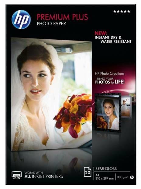Papier A4 HP Fotograficzny Premium Plus (20 ark) 300g (CR673A)