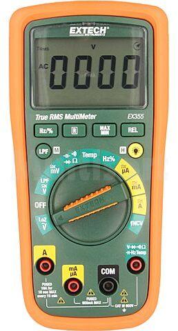 Multimetr cyfrowy EXTECH LCD (6000) V DC:60m/600m/6/60/600V