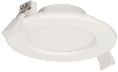 EURUS LED 9W, oprawa downlight, podtynkowa, okrągła, 480lm, 4000K, biała, wbudowany zasilacz LED