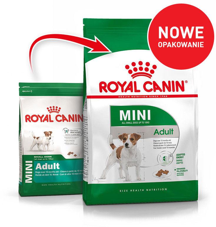 ROYAL CANIN Mini Adult 8kg karma sucha dla psów dorosłych, ras małych + niespodzianka dla psa GRATIS!