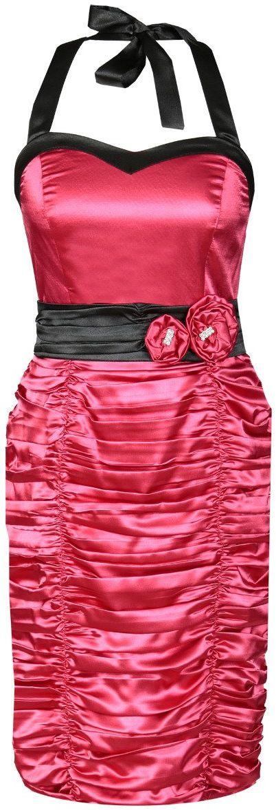 Sukienki Sukienka Suknie FSU190 MALINOWY