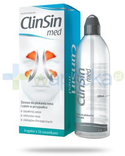 ClinSin Med zestaw do płukania nosa i zatok
