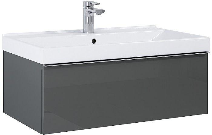 Szafka pod umywalkę 80 Look Anthracite Elita (167080)