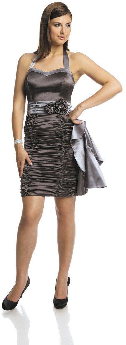 Sukienka FSU190 GRAFITOWY
