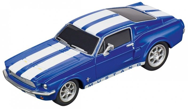 Carrera GO!!! - Ford Mustang ''67 - Racing Blue 64146