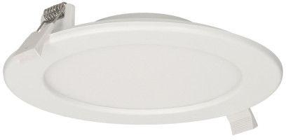 EURUS LED 12W, oprawa downlight, podtynkowa, okrągła, 780lm, 4000K, biała, wbudowany zasilacz LED
