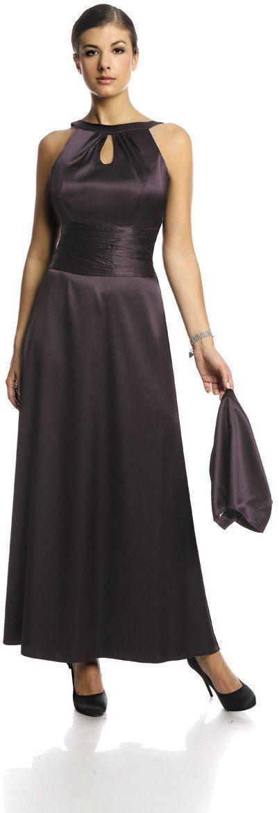 Sukienka FSU168 ŚLIWKOWY CIEMNY