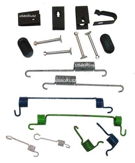 Zestaw montażowy szczęk hamulcowych do bębnów Dodge Stratus -2000
