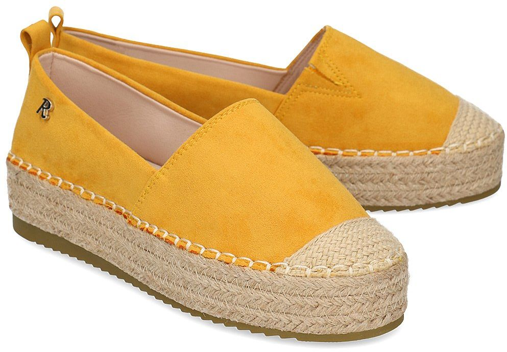 Refresh - Espadryle Damskie - 72218 YELLOW - Żółty