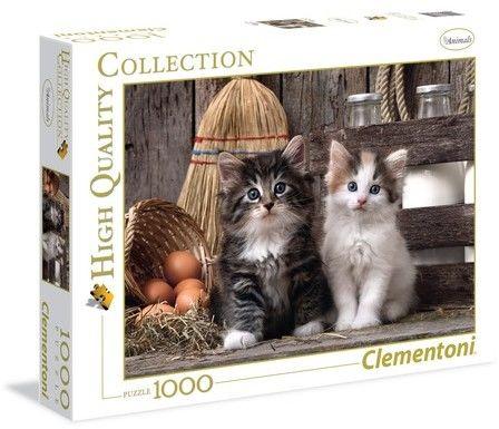 Puzzle Clementoni 1000 - Kochane kotki, Lovely Kittens