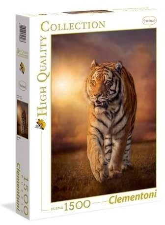 Puzzle Clementoni 1500 - HQ - Tygrys, Tiger