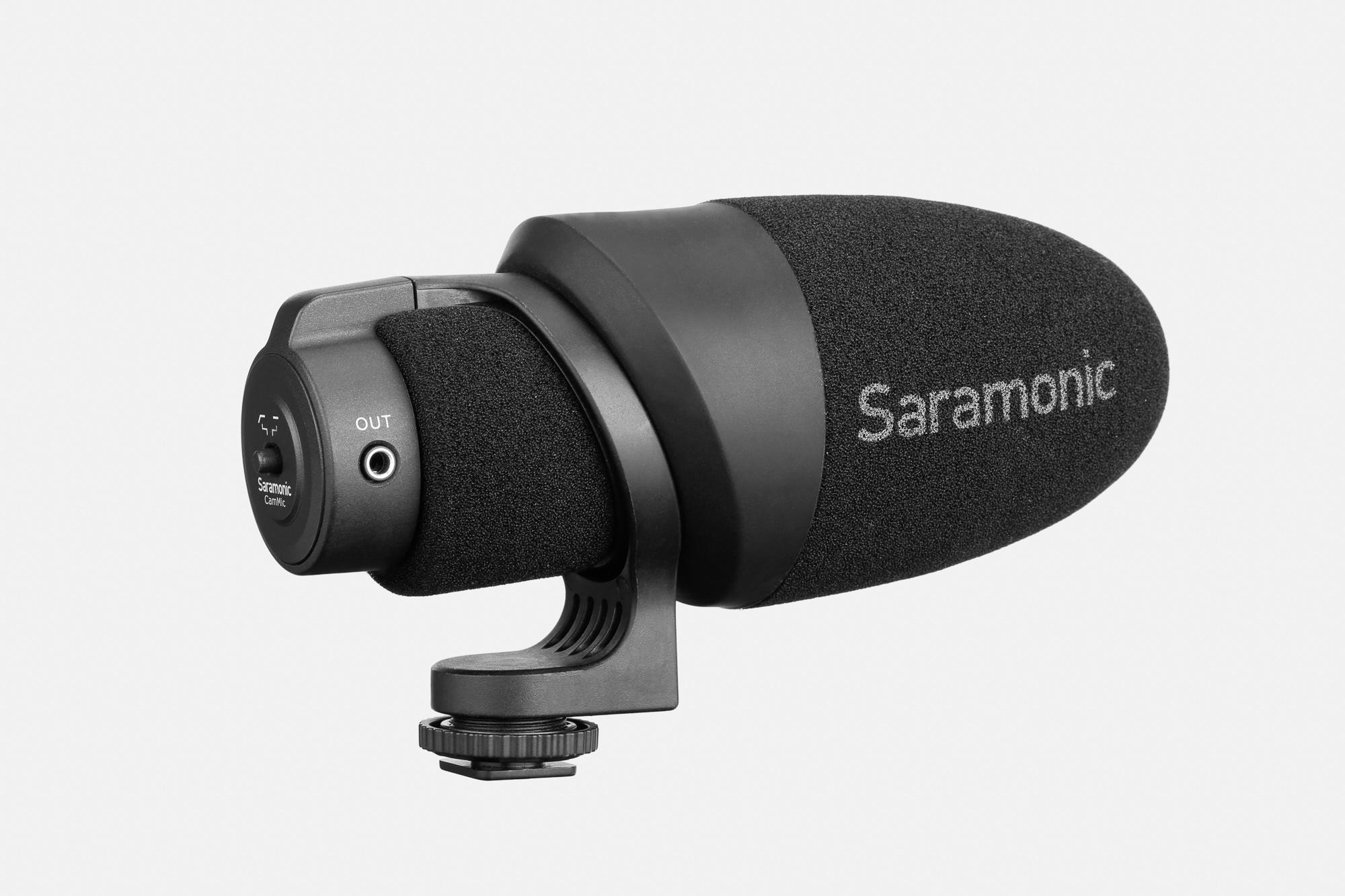 Saramonic CamMic- nakamerowy mikrofon pojemnościowy, kierunkowy