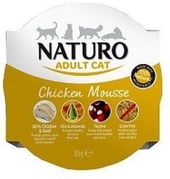 Naturo Kot Adult Kurczak tacka 85g Naturo DLA ZAMÓWIEŃ + 99zł GRATIS!