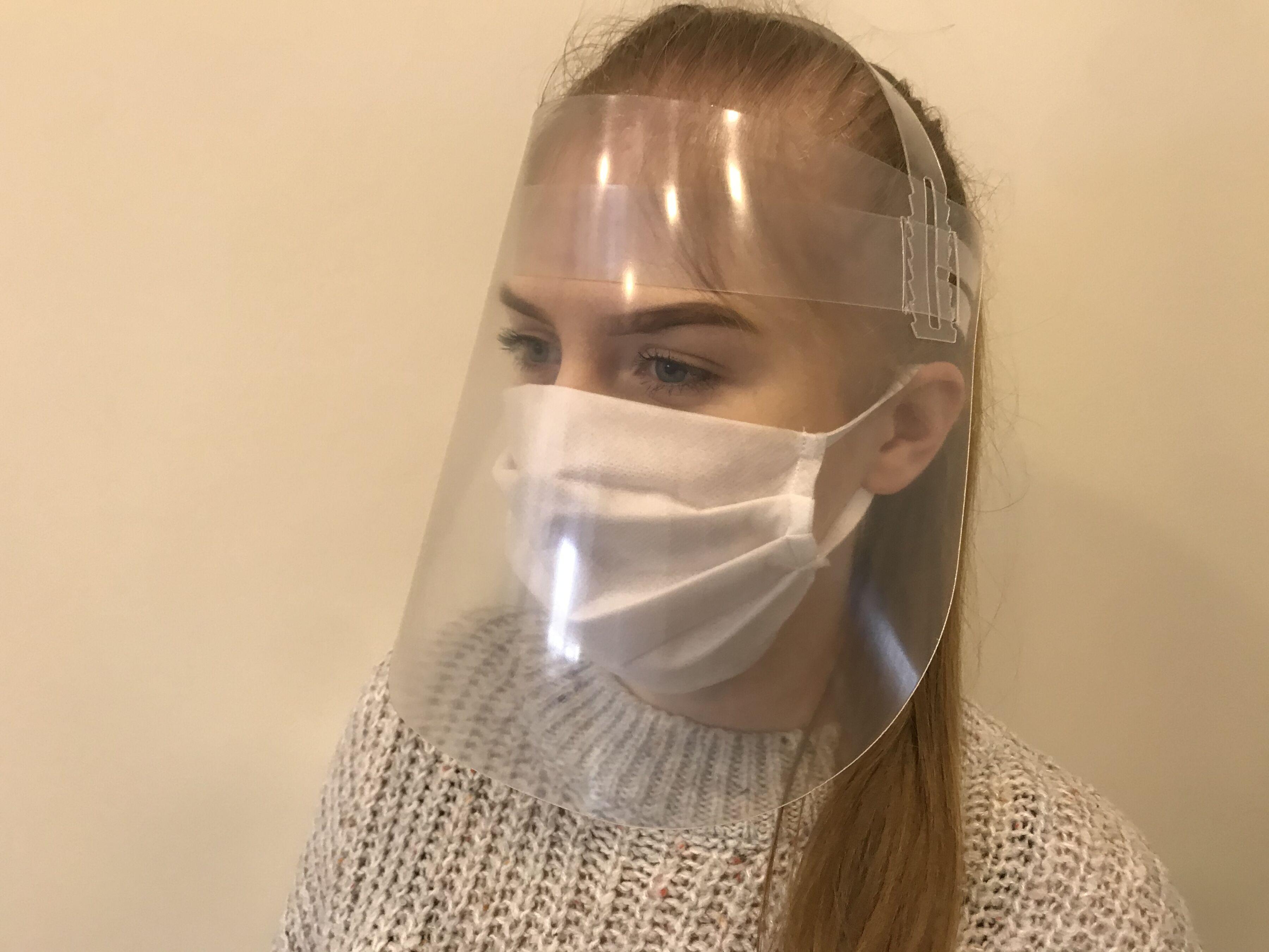 Przyłbica ochronna PRO