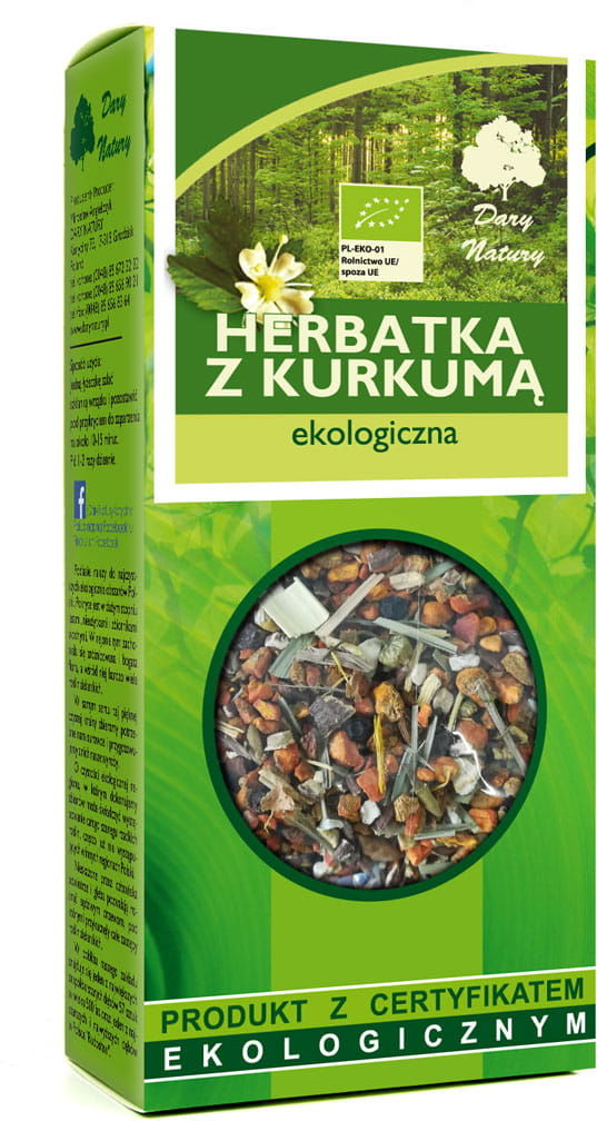 Dary Natury Herbatka z Kurkumą Eko 100g