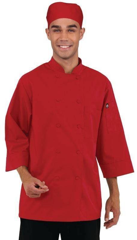 Koszula kucharska czerwona różne rozmiary