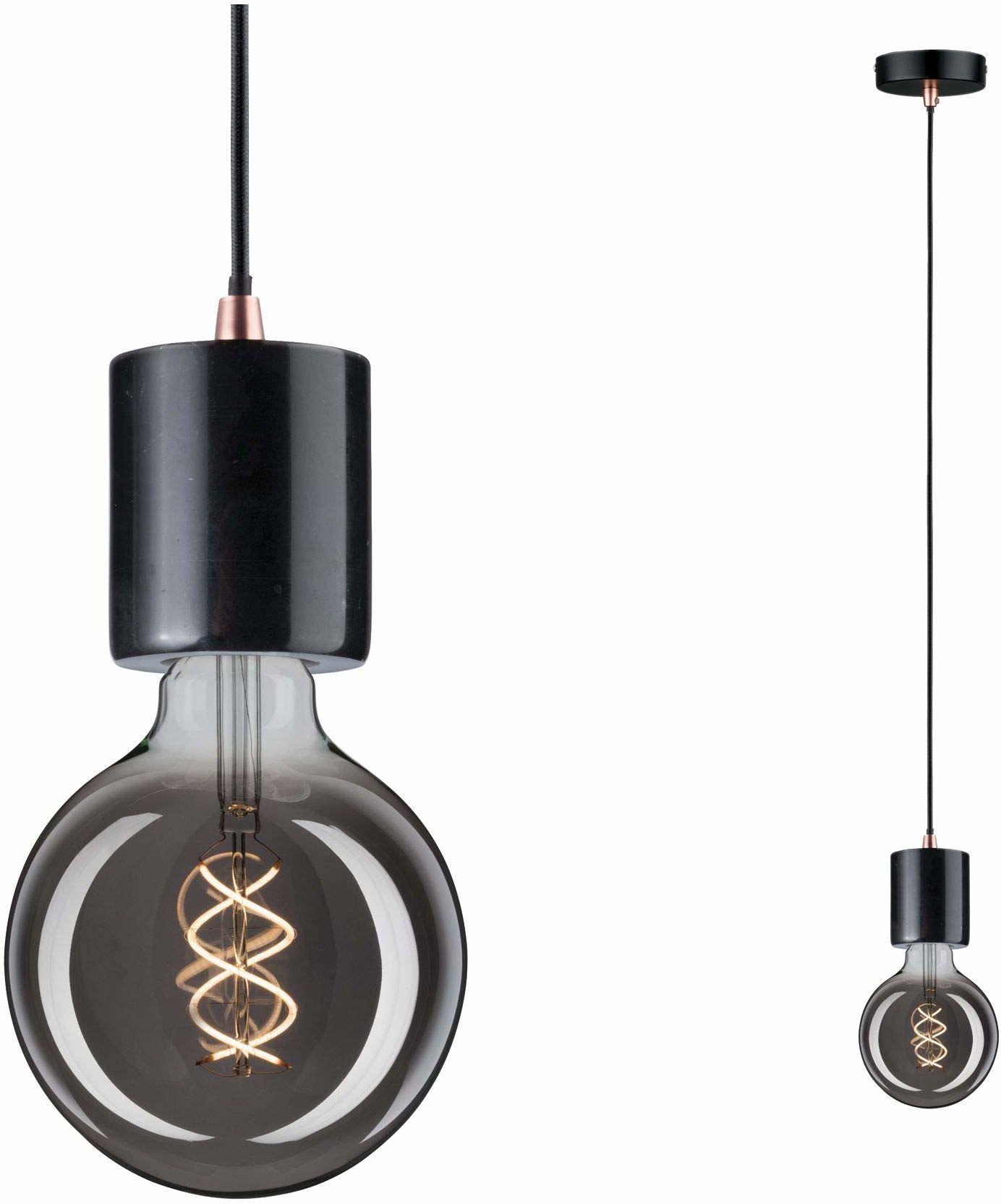 Paulmann 79751 lampa wisząca Neordic Nordin maks. 20 watów lampa wisząca czarna, marmur, miedź matowa lampa wisząca marmurowa lampa wisząca E27